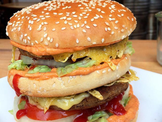 Die veganen Burger sind nicht nur für Veganer ein Genuss