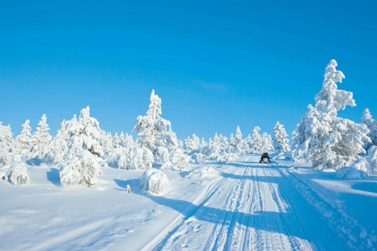 Finnland lockt mit seinen wunderschönen Schneelandschaften immer wieder zahlreiche Touristen an