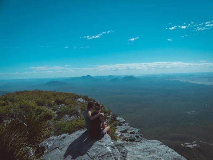 Australien war ihre letzte Station. Den einzigartigen Ausblick haben sie auf dem Bluff Knoll, dem zweithöchsten Berg des Westens, eingefangen