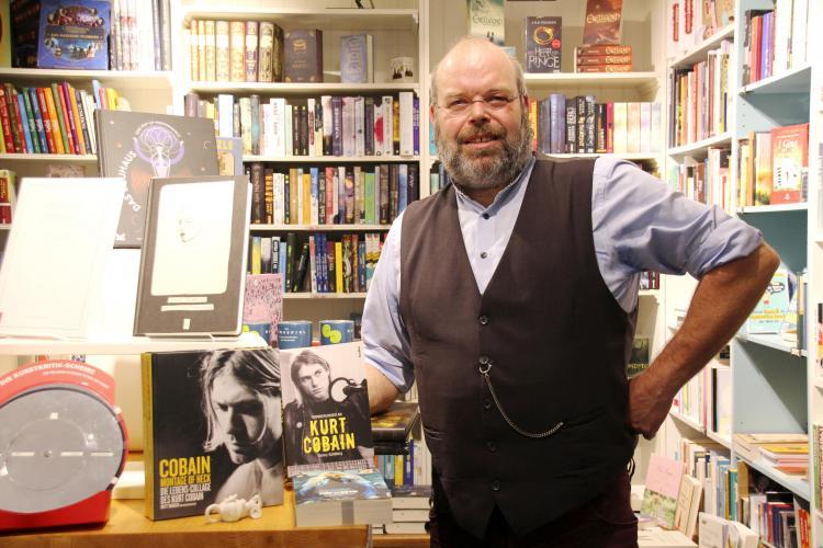 Patrick Goeser empfiehlt zurzeit die Bücher über Kurt Cobain, zumeist erschienen zu dessen 25. Todestag