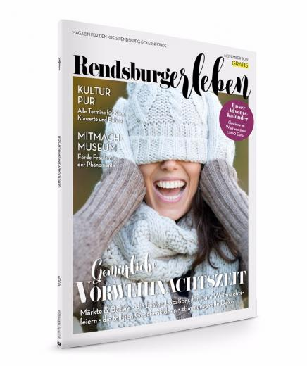 Die neue Ausgabe der RENDSBURGerleben ist da