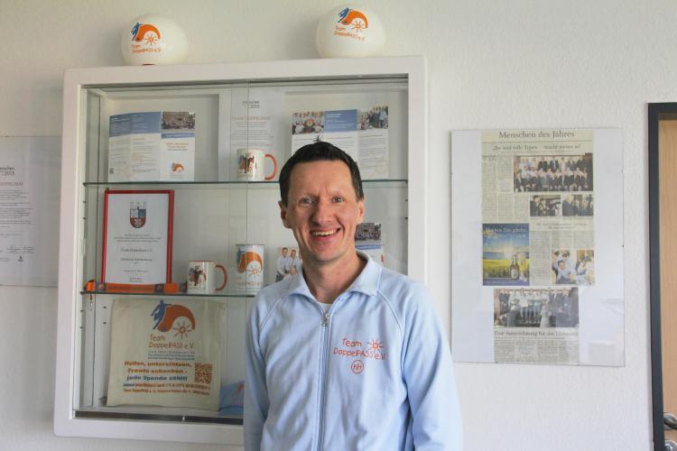Kim Häusgen engagiert sich seit Jahren für Team Doppel-PASS e. V. und ist zurzeit Vorsitzender des Vereins