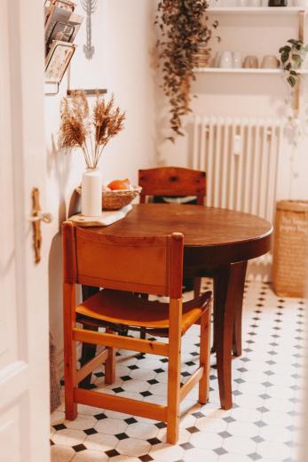 Auch wenn die Küche nicht ihr Lieblingszimmer ist, beweist Nina auch hier ihr Händchen für schöne Einrichtung