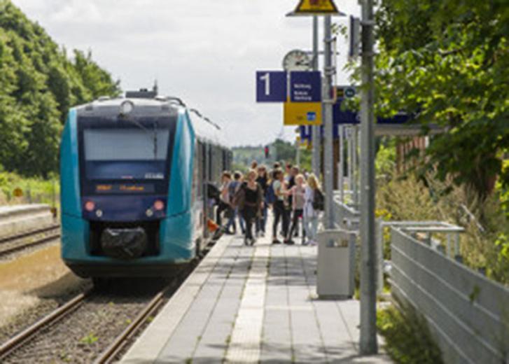 Bau einer Leitwerkstatt für Triebwagen in Rendsburg