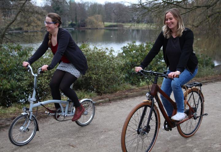 Nachhaltigkeit auf Rädern