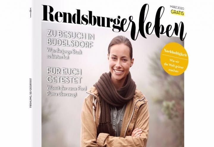 Die Märzausgabe der RENDSBURGerleben ist da!