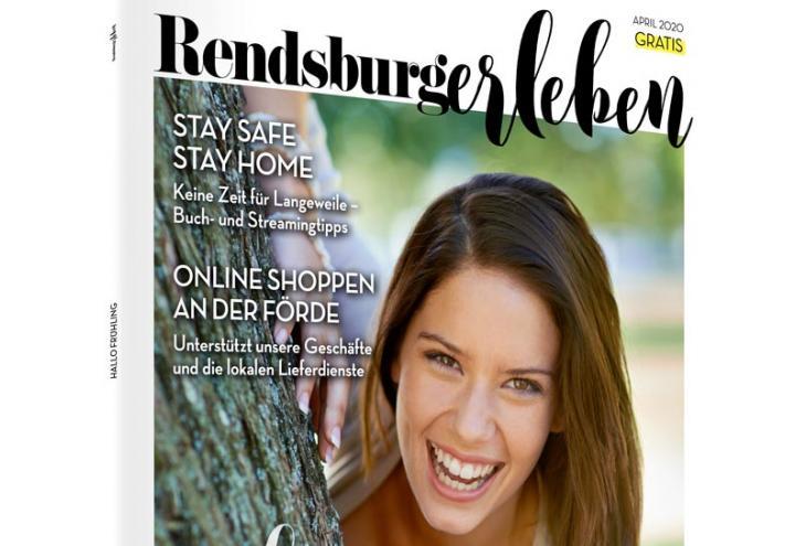 Die Aprilausgabe der RENDSBURGerleben ist da!